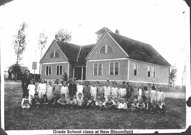 New Bloomfield Grade School approx. 1938
