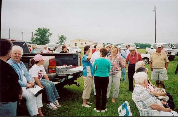 Dedication of building site on June 02, 2007