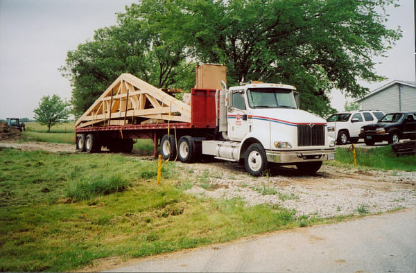 Deliver of building materials on May 31, 2007